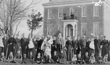 Breeding Farm house historical