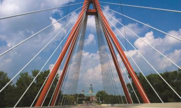 Robert N. Stewart Bridge in Columbus, credit Gregory Boege