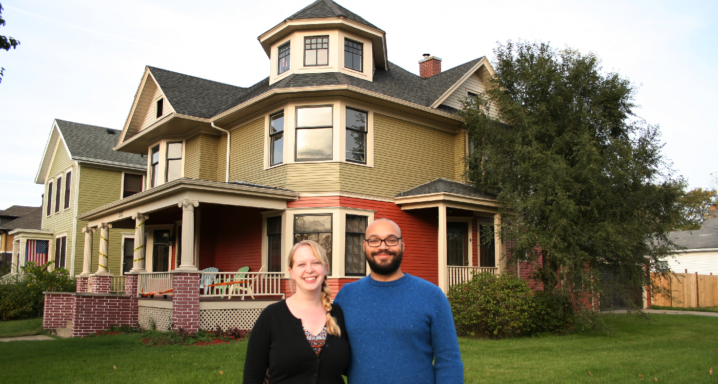 Katie and Thomas Wicker, Chapin House, South Bend