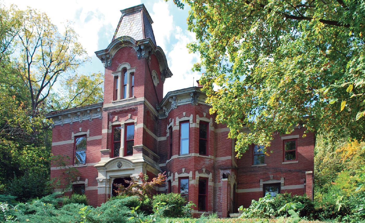 Newkirk Mansion, Connersville