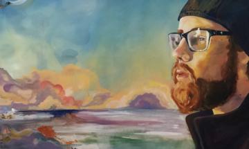 Susan Watrous painting - Mike