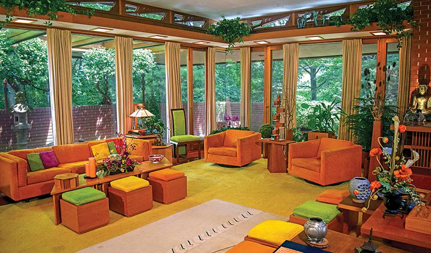 Frank lloyd wright in indiana indiana landmarks for Interior design lafayette indiana