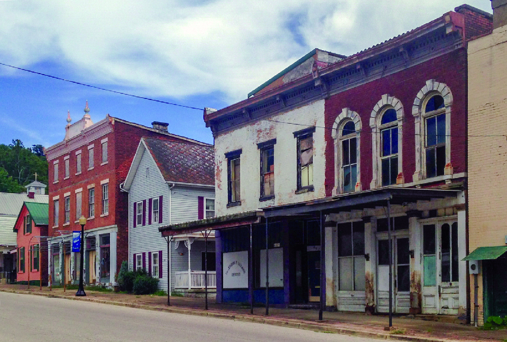 Cannelton downtown