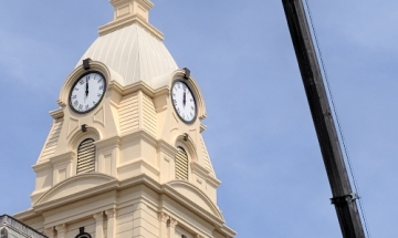 Montgomery County Courthouse Clock Tower