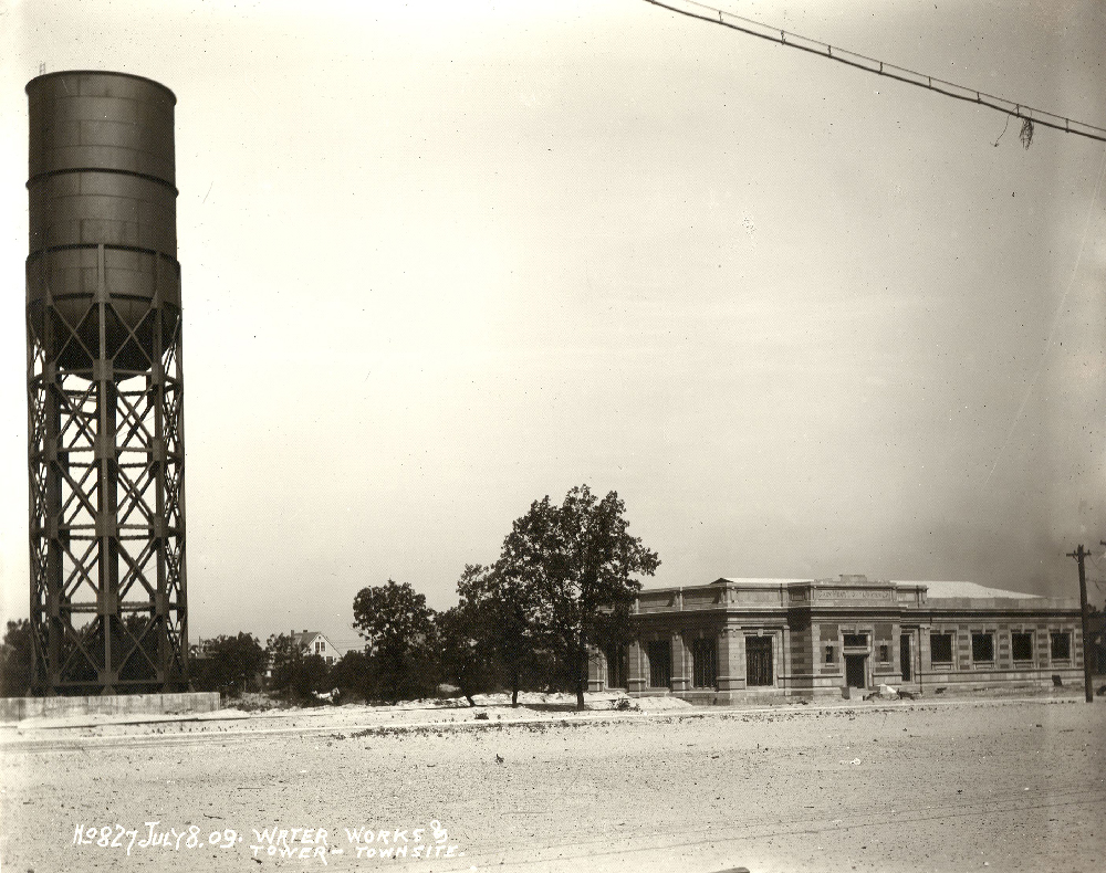 Gary Water Tower 1909