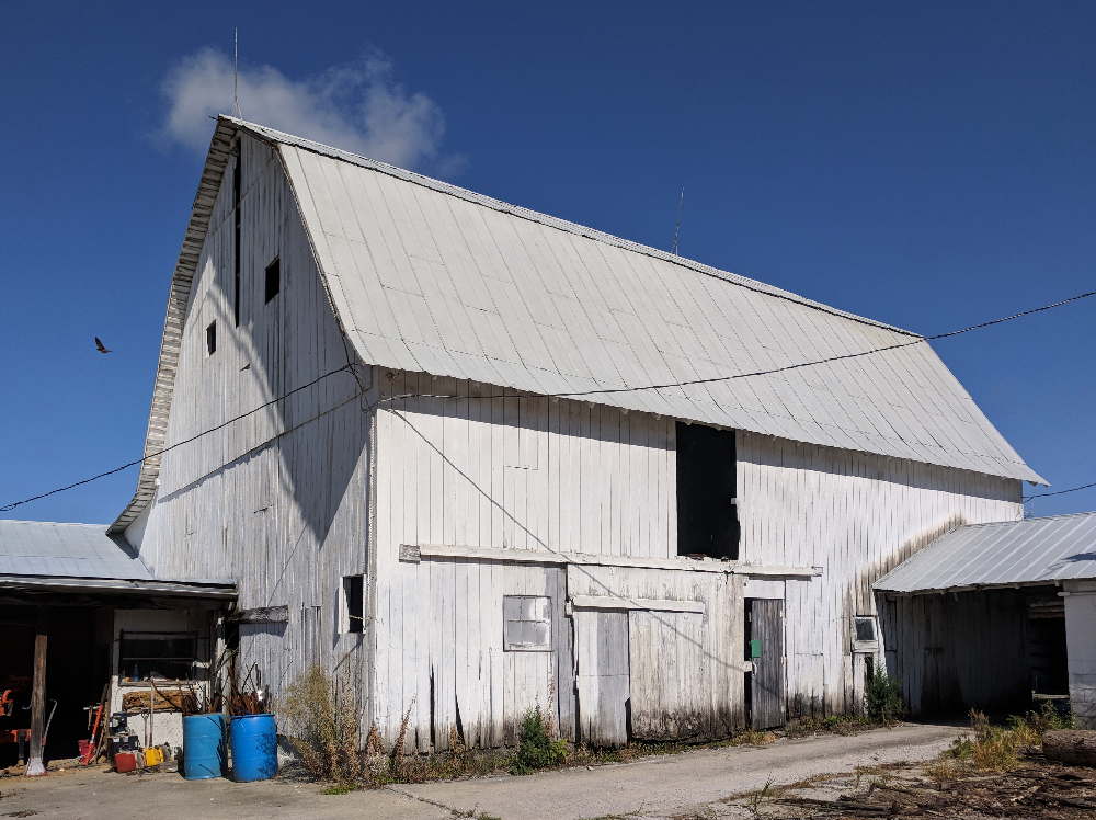 Putnam County dairy barn converted to sawmill