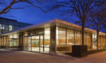 Irwin Conference Center by Hadley Fruits