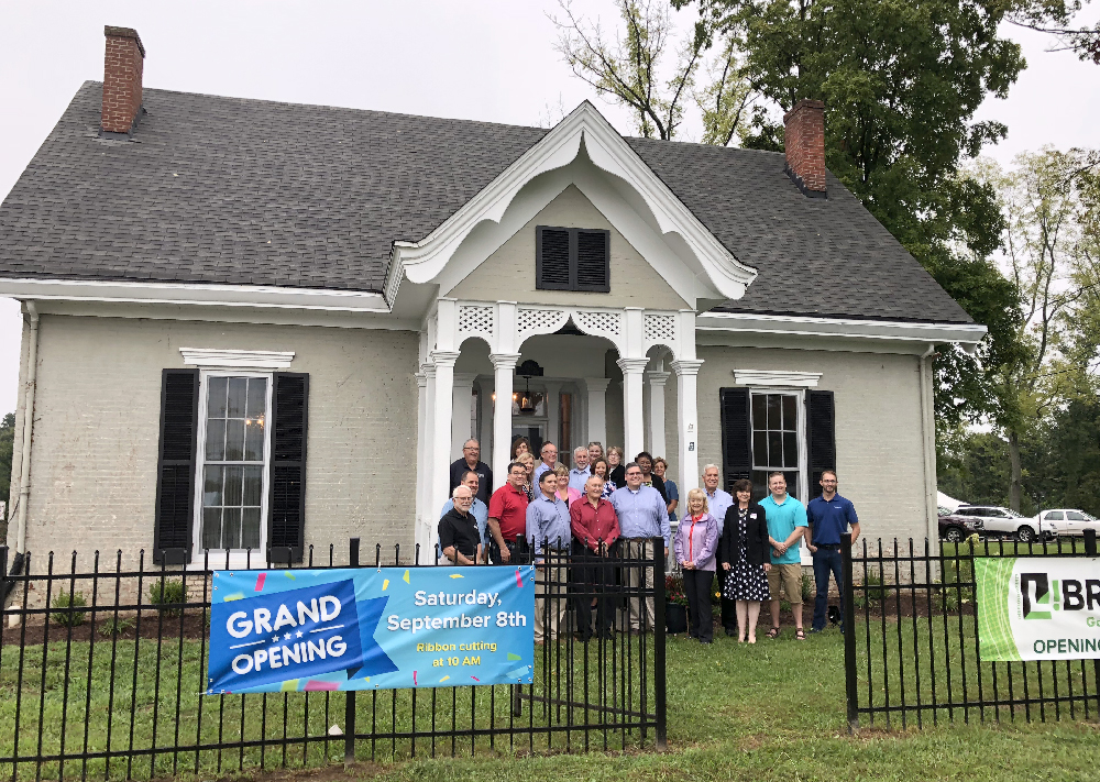 Galena Library grand opening
