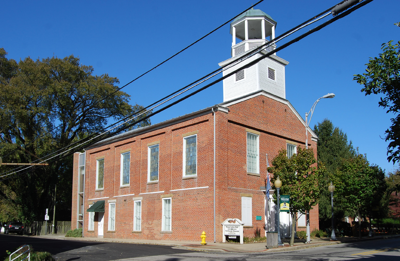 Preservation Hall, Newburgh