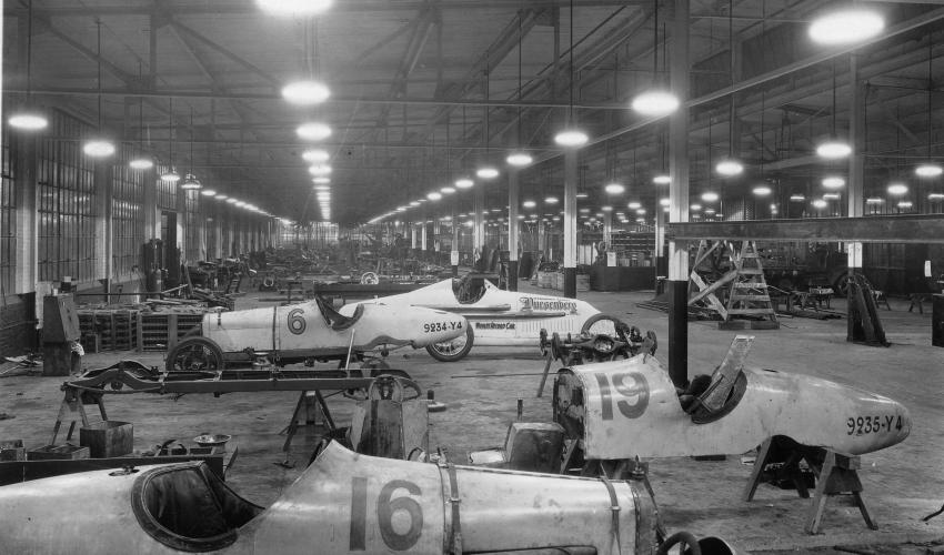 duesyRacers @ Factory - Auburn Cord Duesenberg Automobile Museum