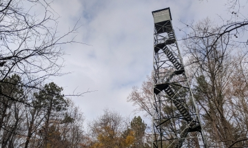 McCormick's Creek fire tower
