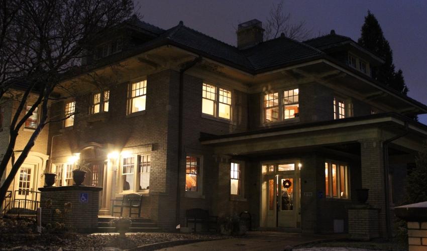 Stutz House 2018 Indiana Landmlarks Indianapolis Holiday Open House
