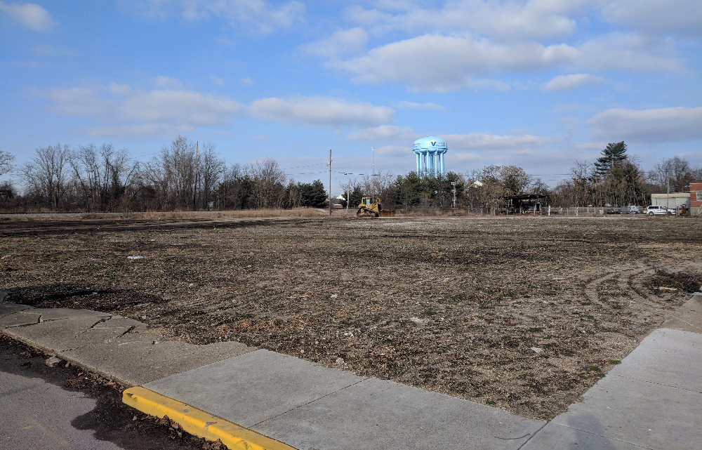 Vincennes HD vacant lot