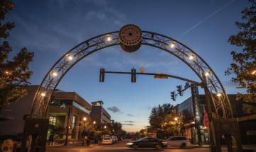 Downtown Evansville - Main Street