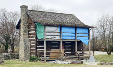 Angevine Cabin, Lawrenceburg