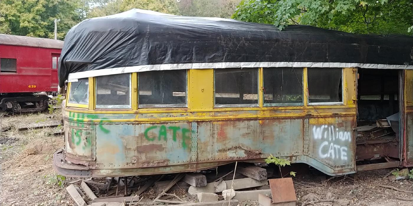 Indianapolis Railways Streetcar No. 153