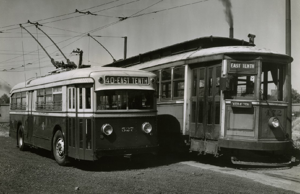 Indy streetcar from Indiana Album