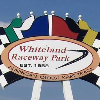 Whiteland Raceway Park sign