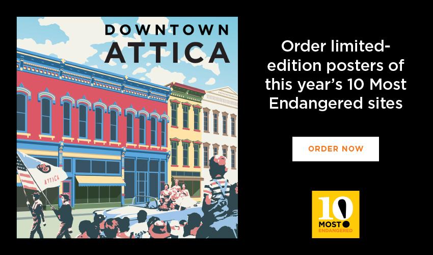 Downtown Attica - Indiana Landmarks