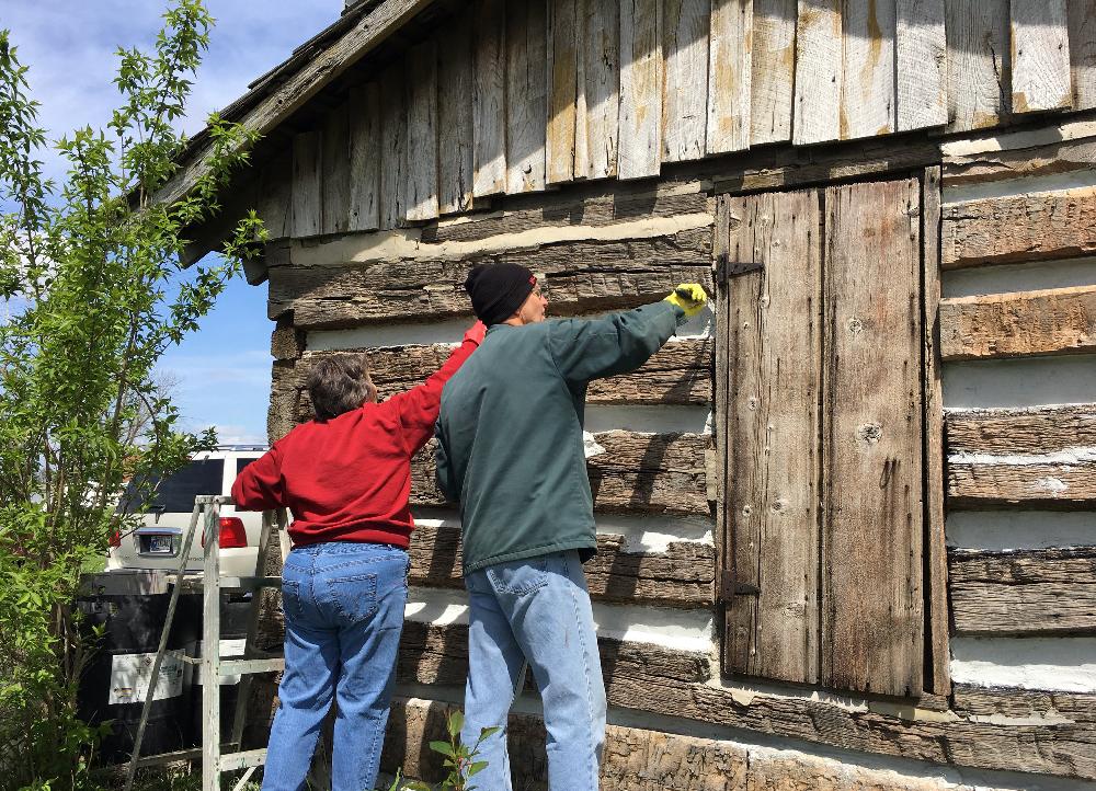 Quick-Walter-Hall Cabin Jasper County Fairgrounds