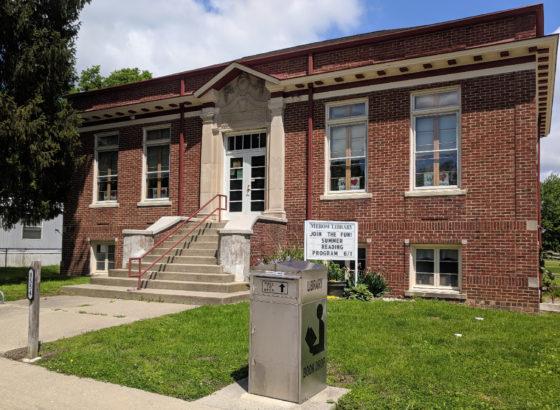 Merom Public Library, Sullivan County