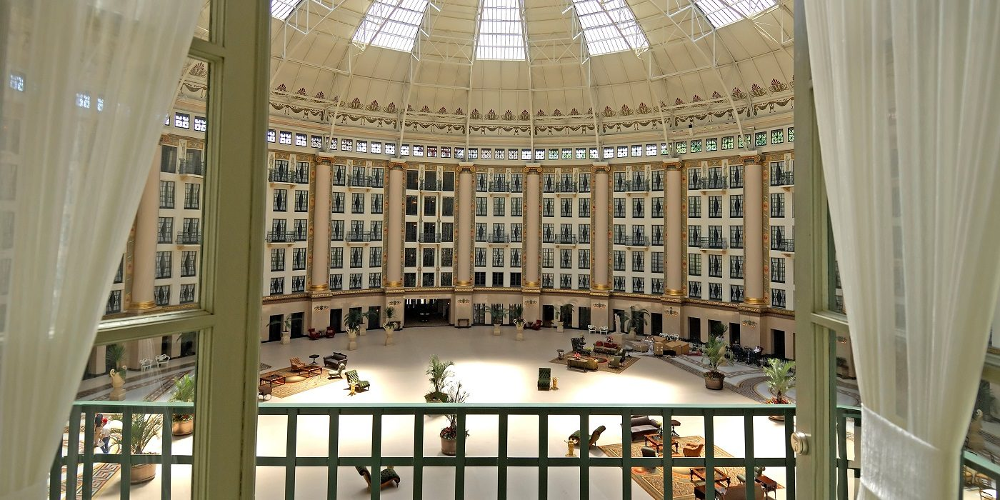 Balcony View at West Baden Springs Hotel