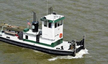 Elizabeth Lea towboat, Dearborn County