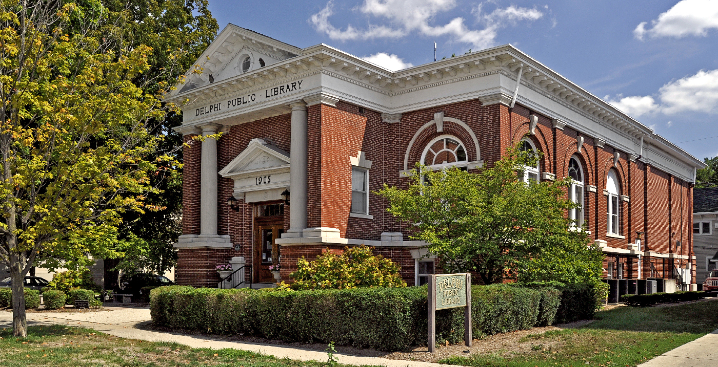 Delphi Carnegie Library by Lee Lewellen