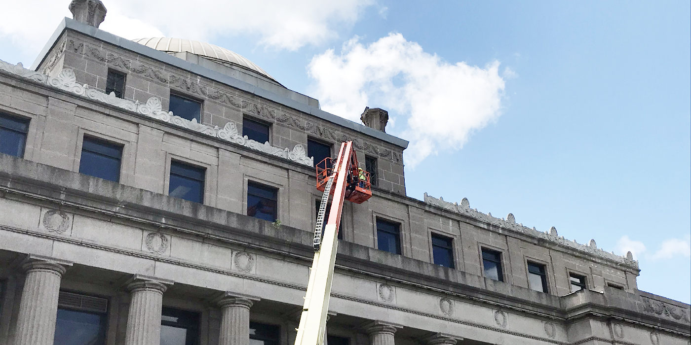 Gary City Hall roof rehab