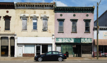 Petersburg commercial facades
