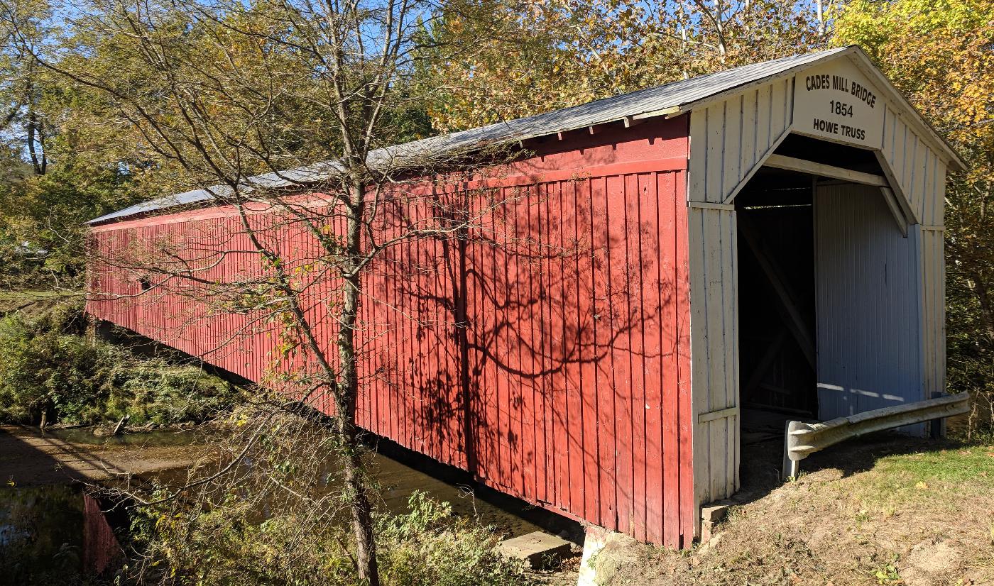 Cades Mill Bridge, Fountain County