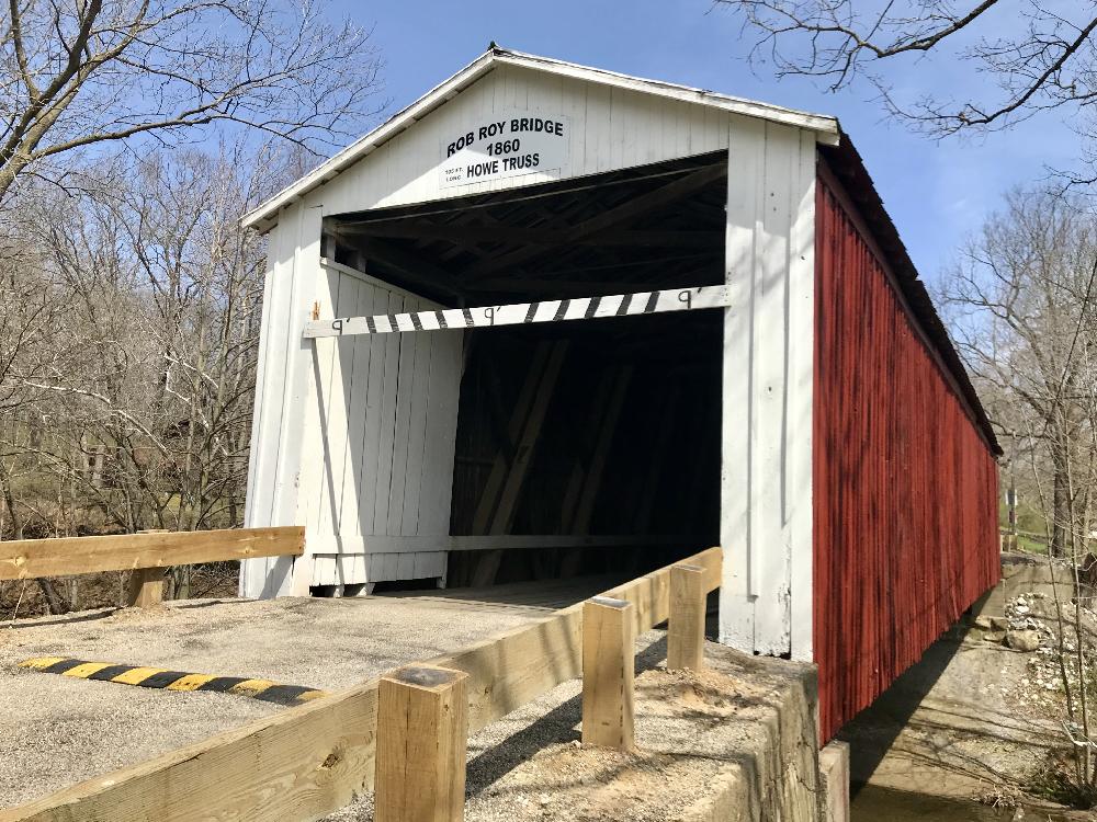 Rob Roy Bridge, Fountain County