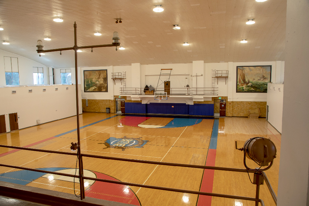 Riverside High School gym