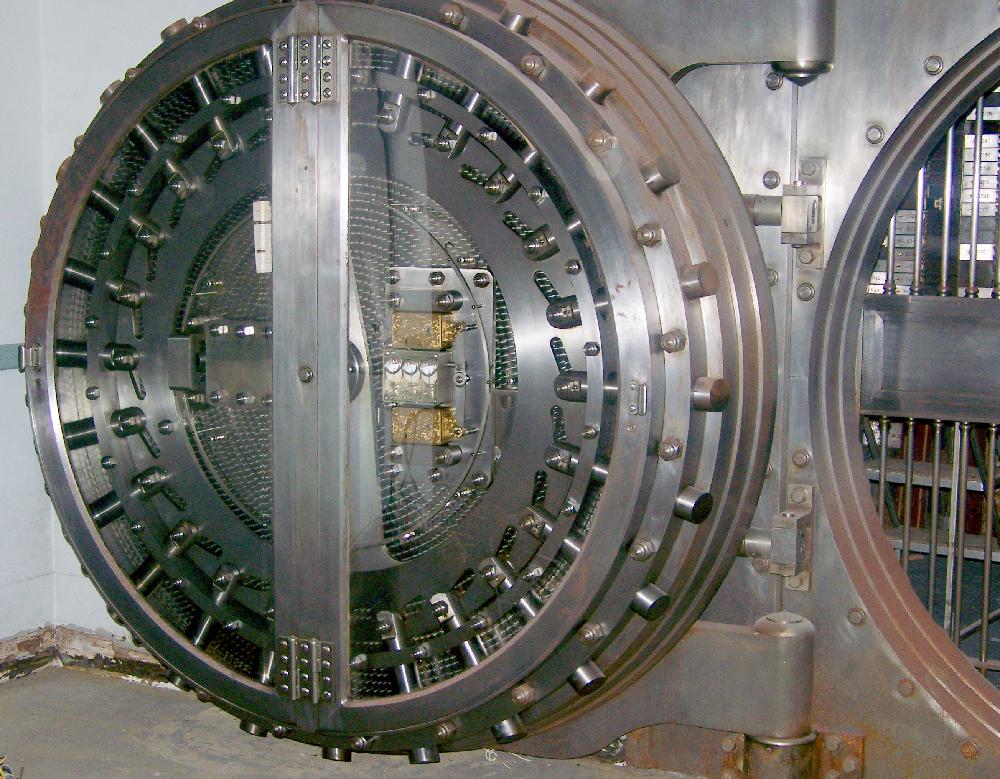 Marion National Bank vault