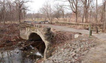 Nowland Ave Bridge Indianapolis