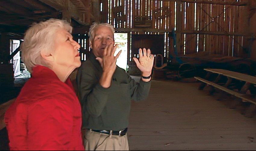 Judy O'Bannon and Amos Schwartz