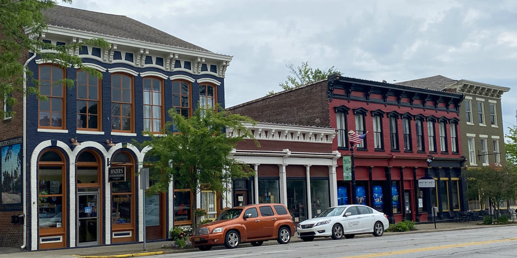 Downtown Madison, Indiana