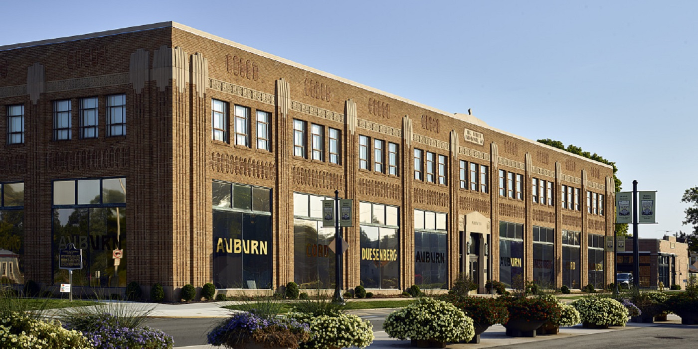 ACD Museum - Photo courtesy Auburn Cord Duesenberg Automobile Museum