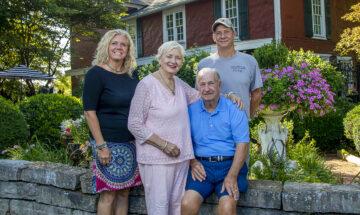 Manning Family, Stream Cliff Farm