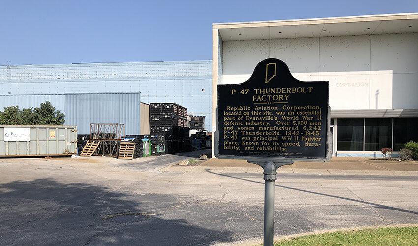 Evansville P47 factory