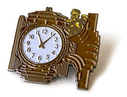 Ayres clock pin