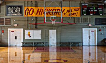 Hoosier Gym in Knightstown by Mike Fender