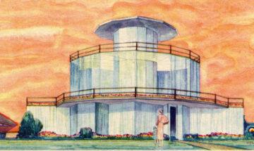 House of Tomorrow postcard